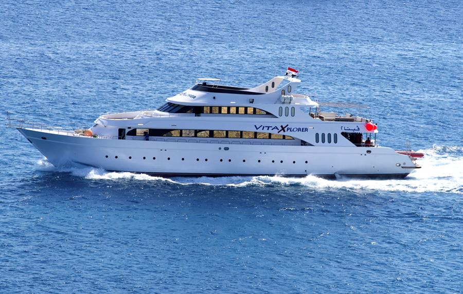 Яхта Vita Explorer в Египте