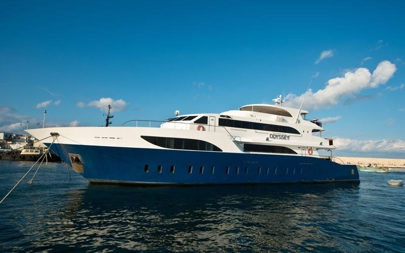 Яхта Odyssey в Египте