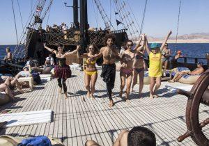 Пиратская вечеринка на яхте Black Pearl