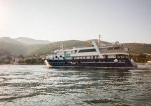 Яхта Lupus Mare в Хорватии